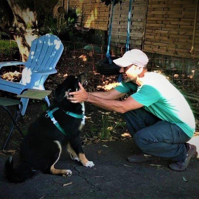 Petsitting : visite à domicile d'éducation canine et de dressage de chien à la Réunion.